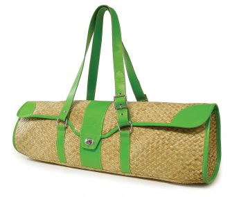 St. Tropez Yoga Mat Bag (Seagrass / Green)