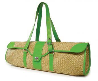 St. Tropez Yoga Mat Bag (Seagrass / Green)