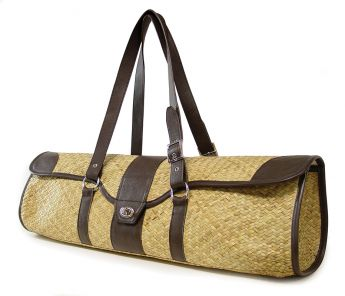 St. Tropez Yoga Mat Bag (Seagrass / Brown)