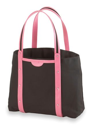 Convertible Yoga / Pilates Mat Tote (Black / Pink)