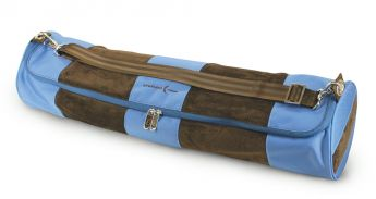 Yoga / Pilates Mat Tube (Blue / Chocolate)