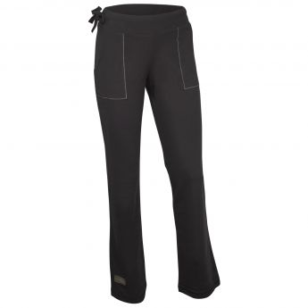 Santorini Women's Pant with Pockets (Black, Small)
