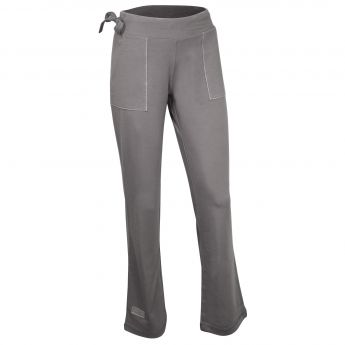 Santorini Women's Pant with Pockets (Gray, Large)