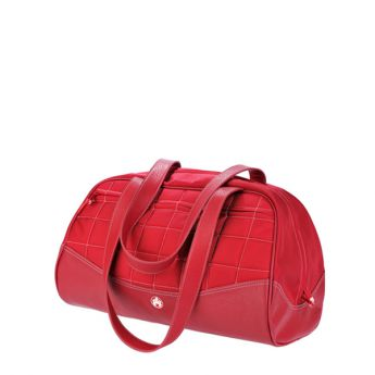 Sumo Duffel - Red with White Stitching