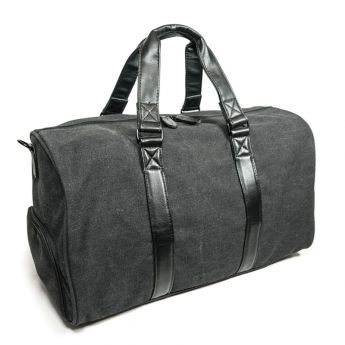 The Charcoal Metro Duffel