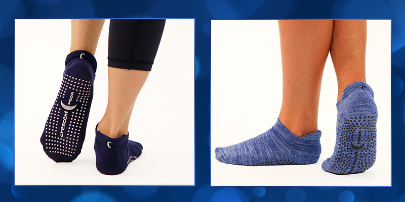 20% Off All ExerSocks- Use Code: GRIPSOCKS - Shop Crescent Moon Yoga ExerSocks
